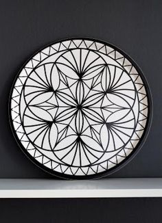 Johanna has been running the company Highway Design since 2006 and works mainly with graphical design, pattern planning and illustrations. Natural Materials, Decorative Plates, Tray, Tableware, Pattern, Inspirational, Funny, Shop, Design