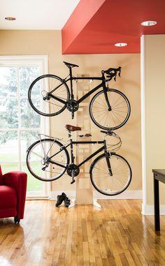 The Hottie - bike storage
