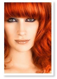 I wish I were a red head. (And, yes, I know that's bad grammar. Sue me.)