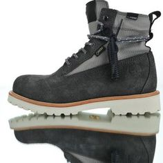 9ee1accf8948 Mens Winter Snow Boots Timberland x MADNESS Premium 6 In GORE-TEX Deep fog  cold grey A1UJ5 a1uj5