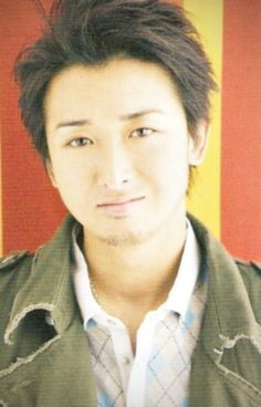 Ohno with facial hair. I don't hate it...