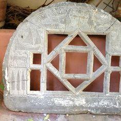 Islamic marble door
