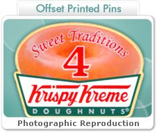 Get stunning, #picture-#perfect results with #offset #printed #lapel #pins:	http://www.signaturepins.com/offsetprinted-html/ #Signaturepins  #Offsetprinted