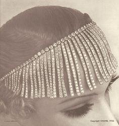 Chanel's Franges necklace 1932, part of the To The Cosmos And Back At The Haute Joaillerie Collection