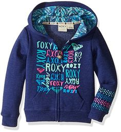 Listed Price: $35.21 Sale Price: $29.99 Keep yourself warm in the setting sun with this zip front Roxy girl hoodie...…