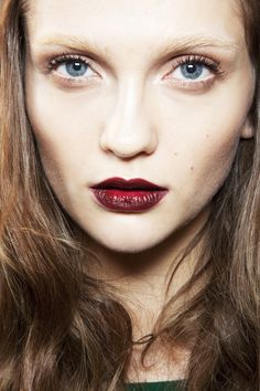 Fall 2012 trend Dramatic Red Lips like it's 1993! The only 2012 fashion trend I'm excited about :)