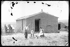 """Our Sunday Best,"" Custer County, Nebraska, 1886"