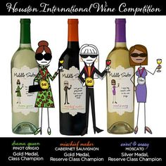 Big WINS for Middle Sister Wines at the Houston International Wine Competition! Way to go, girls!