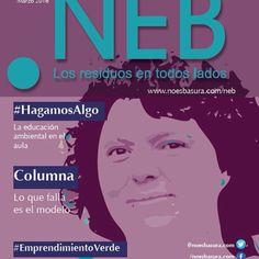 Lista la nueva edición de la revista NEB con temas de #eco...