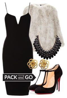 Pack And Go: Milan by deedee-pekarik on Polyvore featuring polyvore fashion style Topshop Christian Louboutin clothing