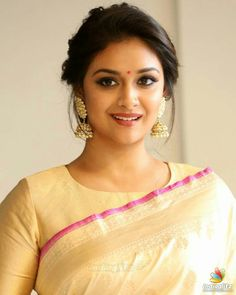 25 Latest Image of Beautiful South Indian Actress Keerthy Suresh Beautiful Girl Indian, Most Beautiful Indian Actress, Beautiful Girl Image, Beautiful Saree, Beautiful Actresses, Saree Photoshoot, Stylish Girl Images, Tamil Actress Photos, Beauty Full Girl