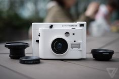 We reviewed Lomography's first instant camera: http://www.theverge.com/2015/4/22/8466683/lomo-instant-review