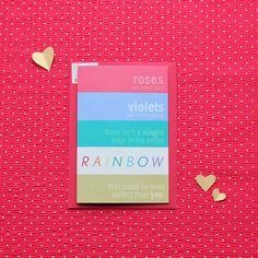 Image of 'A Pantone Poem' card