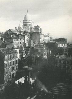 Vue du Sacré Coeur en 1904 - Photo des frères Seeberger