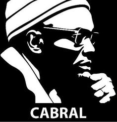 Small-Matted-Print-ORIGINAL-ILLUSTRATION-Portrait-African-Leader-AMILCAR-CABRAL