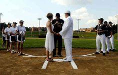Baseball Wedding #Baseballwedding #baseballgifts #weddinggifts #sportsweddinggifts #personalizedgifts