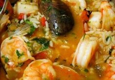 Mariscada Portuguese Seafood Rice