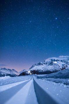 Winters Night, Germany
