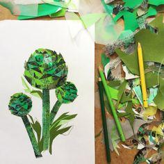 Artichoke art print - Limited edition