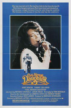 Coal Miner's Daughter (1980) starring Sissy Spacek & Tommy Lee Jones