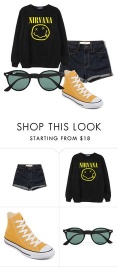 """Lithium"" by yuukuaa on Polyvore featuring Abercrombie & Fitch, Chicnova Fashion and Ray-Ban"
