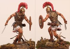 Celtiberian chief 3rd-2nd cent. B.C. Conquistador, Sparta Warrior, Punic Wars, Human Dna, Hunter Gatherer, Arm Armor, Period Costumes, Picts, Modern Sculpture