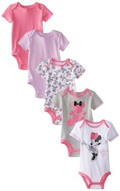 Disney Baby Baby-Girls Newborn Disney's Minnie Mouse 5 Pack Bodysuits, Multi Color, 0-3 Months Disney http://www.amazon.com/dp/B00JB8B81C/ref=cm_sw_r_pi_dp_.A-Ltb1Z8GX6ANGW