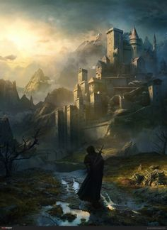 """SOMNUM: """"Love the warmth of this painting."""" (http://www.pinterest.com/vestakia/various-fantasy-artwork/, 2014.)"""