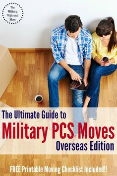 Looking for an awesome military moving overseas checklist? Here is everything you need to know before your next big overseas PCS! Plus, a FREE printable!