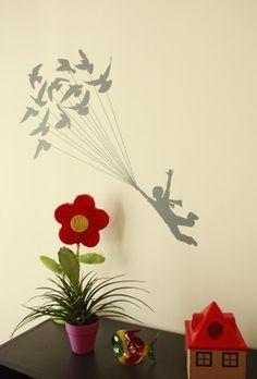 Little Prince  Wall Sticker by VinylizeWallStickers on Etsy, €26.00