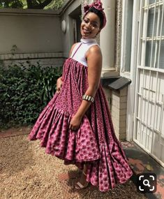 shweshwe dresses 2019 for African women - fashion by diyanu fashion magazine Latest African Fashion Dresses, African Dresses For Women, African Print Dresses, African Print Fashion, African Attire, African Women, Xhosa Attire, Ankara Fashion, African Wear