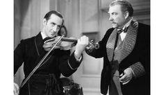 Sherlock Holmes by Basil Rathbone and Nigel Bruce Sherlock Holmes Stories, Holmes Movie, Channel, Arthur Conan Doyle, 221b Baker Street, Martin Freeman, Scottie, Best Actor, British Style