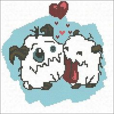 Poro Cross Stitch Embroidery Picture Instant Download Embroidery Pattern  Geekery Gift