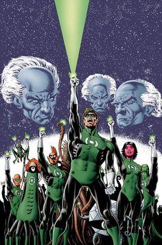 Green Lantern Hal Jordan and the Corps by Brian Bolland Comic Book Artists, Comic Artist, Comic Books Art, Green Lantern Hal Jordan, Green Lantern Corps, Green Lanterns, Green Lantern Sinestro, American Comics, Dc Heroes
