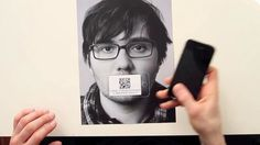 QR CODE - Content-rich Resume by Victor petit. Just a creative way to use QR codes on a resume.
