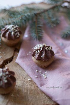 Frisch Verliebt Blog: Lebkuchen-Cupcakes mit Mousse au Chocolat