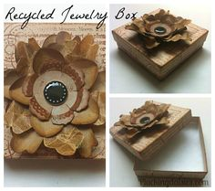 Turn Shipping Boxes into Gift Boxes - Pluckingdaisies.com  Genius!!