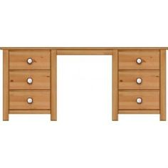 Manhattan Shaker 6 Drawer Dressing Table