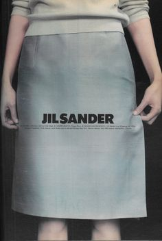 Guinevere Van Seenus photographed by Craig McDean, Jil Sander S/S 1996 : Minimal… Moda Fashion, 90s Fashion, High Fashion, Fashion Beauty, Womens Fashion, Fashion Trends, Jil Sander, Mode Lookbook, Fashion Graphic