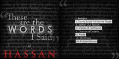"""""""These are the Words I Said"""" now available to download/stream at http://www.datpiff.com/Hassan-These-are-the-Words-I-Said-LP-mixtape.470069.html"""