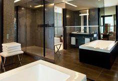 Two Bedroom Presidential Suite at JW Marriott Cannes Luxury Hotel Bathroom, Hotel Bathrooms, Deep Soaking Tub, Lounge, Floor To Ceiling Windows, Minimalist Bathroom, Hotel Suites, Two Bedroom, Corner Bathtub