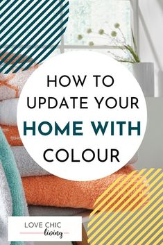 Colourful home decor ideas for a bright, modern, bohemian home. Whether you want a pop of colour, some neutrals, pastels or vibrant shades, these designs will help you create a vintage, cozy space. #lovechicliving #colourfulhome #homedecor