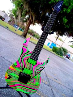 Ibanez 7 String Candy PAW Swirl by Livewire Guitars LLC