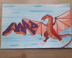 Ward Style Drago 🔥🔥 Graffiti, Style, Graffiti Illustrations, Graffiti Artwork, Street Art Graffiti