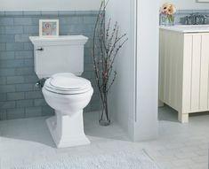 kohler elliston white 128 gpf watersense elongated 2piece chair height toilet loweu0027s canada basement reno pinterest chair height toilet anu2026
