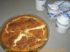 Korslose Melktert, Custard Recipes, Cheese Cakes, Tarts, French Toast, Sweets, Breakfast, Desserts, Food