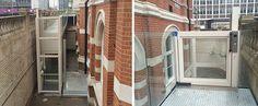 Platform Lift Installation for Croydon Town Hall