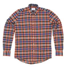Our Legacy Placket Checked Shirt #fashion #apparel
