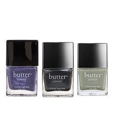 Take a look at this No More Waity Katie, Chimney Sweep & Trustafarian Nail Polish Set on zulily today! $26.99 for the set!