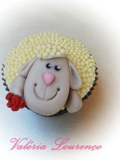 Cupcake ovelhinha